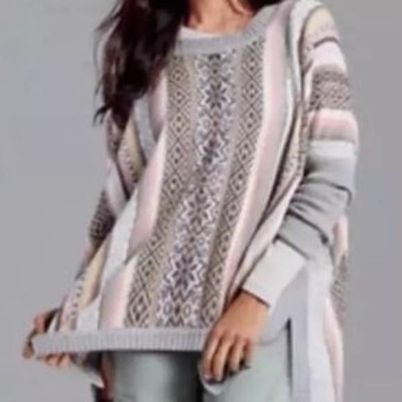 60% off CAbi Sweaters - Cabi Fair Isle Poncho #3121 Sz Med CAbi ...